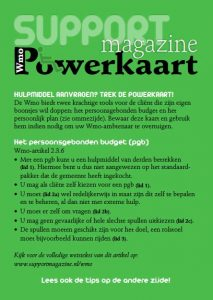 Support Magazine | Wmo Powerkaart