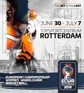 flyer European Championschip Women Wheelchair Basketbal